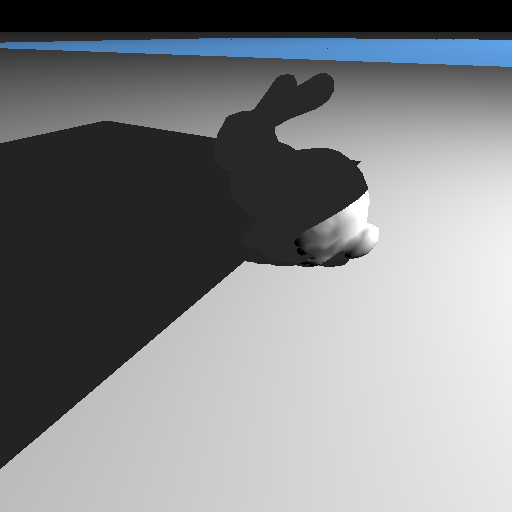 Cloth on Bunny Simulation #1