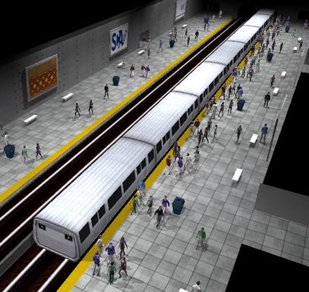 Crowded Subway Station #1