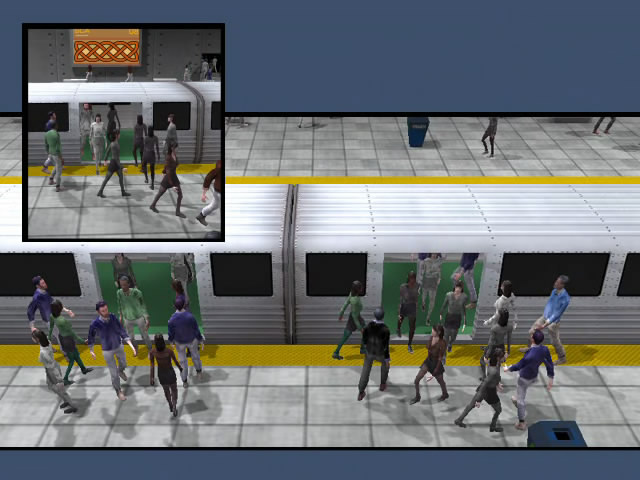 Crowded Subway Station #2