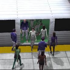 Crowded Subway Station #3