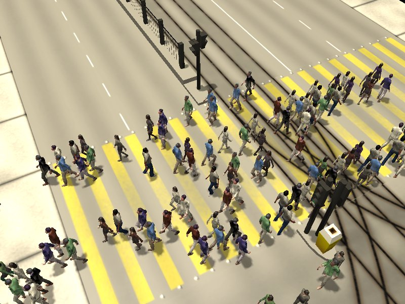 Crosswalk simulation #3