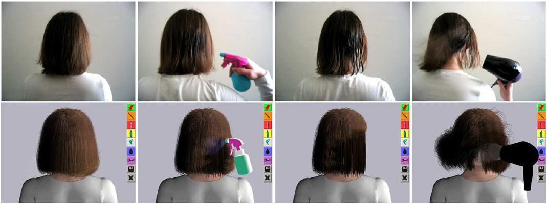 Isalon Interactive Virtual Hair Salon